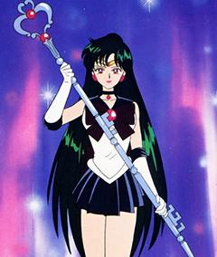 Sailor Pluto Garnet Staff